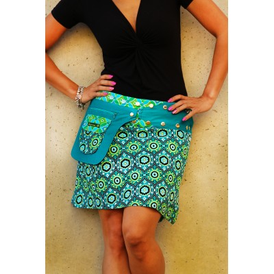Wrapskirt Bordeaux