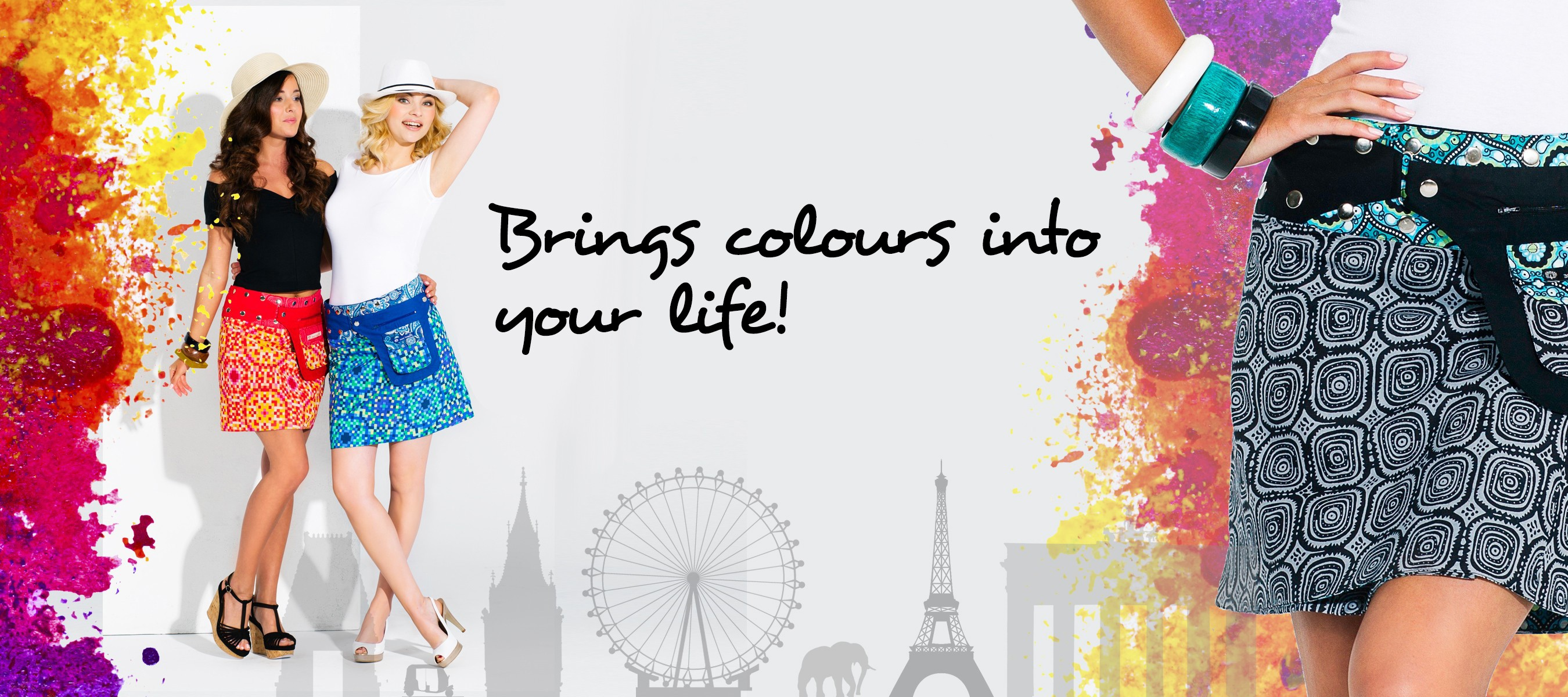 Brings colours into your life!